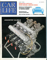 Car Life Magazine June 1961 Coventry Climax EX 060916jhe