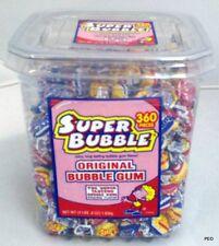 Super Bubble Original Gum Bubbles Tub 360 Pieces Chewing Bulk Candy Candies