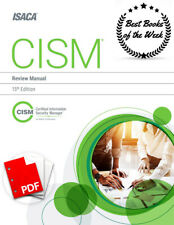 CISM Review Manual 15th Edition ✅ 2017 🔥[P.D-F]🔥