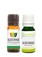 Blood Orange Essential Oil Pure Natural Authentic Citrus Sinensis Aromatherapy