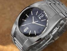 Bvlgari Ergon Mens Automatic Swiss Made mens Stainless Steel Watch c2000 RX210