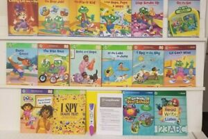 LeapFrog LeapReader Reading and Writing System Age 4-8  16 Books