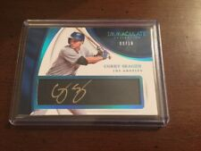 2017 Immaculate Corey Seager Los Angeles Dodgers AUTO 9/10 Autograph