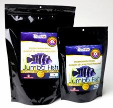 NorthFin Jumbo fish food pellets with Krill, Herring, Astaxanthin, Garlic