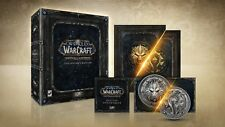 WORLD OF WARCRAFT BATTLE FOR AZEROTH COLLECTOR'S EDITION PC NEW ENGLISH