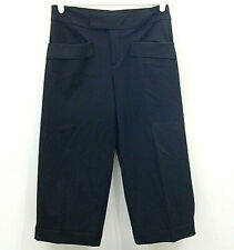 Equestrian Brand Croppped Pants Womens Small Stretch Snap Crop