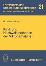 Fortschritte der Urologie und Nephrologie: Klinik und Nachweismethoden der...