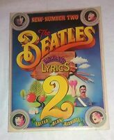 The Beatles Illustrated Lyrics 2 . New Number Two -  Alan  Aldridge -  BPC 1971