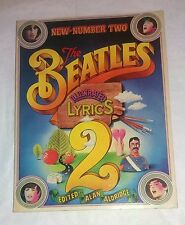 The Beatles Illustrated Lyrics 2 . New Number Two -  Alan  Aldridge -  BPC 1971