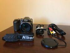 Used Nikon Coolpix L120 14.1 MegaPixel 21x Optical Zoom Digital Camera Bronze