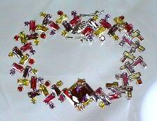"Stunning Genuine Swarovski Crystal Bracelet 7"" Crystal Weimaraner Rescue Charity"
