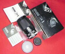 Sigma XQ 100mm f2.8 Macro Canon FD mount  #Z74001683 .......... MINT w/Box