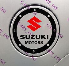 Amazing Car Fuel Gas Tank Cap Stickers Adhesive Graphic For Suzuki (Black)