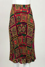 Stunning Made In France Vintage Pleated Ungaro Skirt