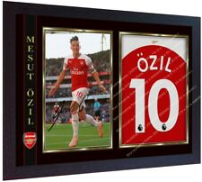 Mesut Ozil signed autograph Arsenal photo print Football Framed