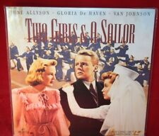 Laserdisc {n} * Two Girls & A Sailor * Van Johnson June Allyson Gloria DeHaven
