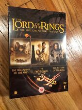 LORD OF THE RINGS TRILOGY 1,2 & 3 - THEATRICAL DVD SET - BRAND NEW