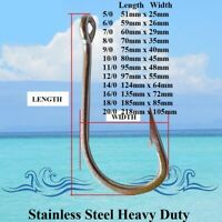 Game Fishing Hooks Stainless Steel Fishing Hooks Trolling Hooks Shark Hooks New