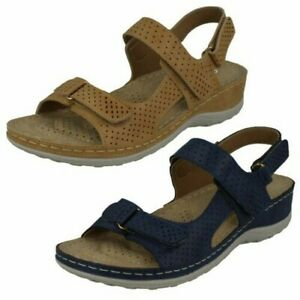 Ladies Spot On Casual Sandals