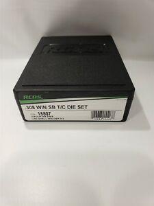 RCBS 308 WIN SB T/C Die Set 15507 - NEW - Open Box