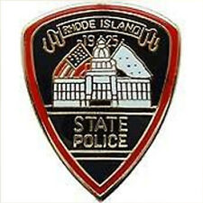 Pin Collection Rhode Island State Police New Metal Lapel Pin Us 50 State Police