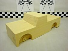 Pinewood Derby Pre-cut #Z-17 Base Chevy Pickup, Create your own Truck!