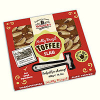 WALKERS HAMMER GIFT PACK - 400G NUTTY BRAZIL  TOFFEE, RETRO SWEETS, NONSUCH