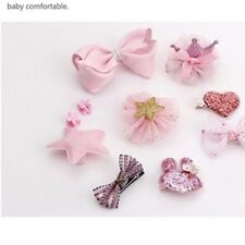 new Hair Accessories Baby Little Girls Hair Clips Bows Barrettes Hairpins Set