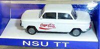 NSU 1000 TT Cola-Look IMU/EUROMODELL  H0 1/87 OVP #Fach   å