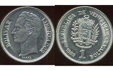 VENEZUELA  1 bolivar 1989  ( bis )