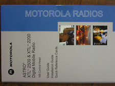 Astro XTL 2500 2200 user manual and CD