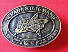 Wrangler Nationals Finals Rodeo Belt Buckle 389 of 1000