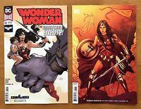 Wonder Woman 60 2018 Dodson Main Cover + Jenny Frison Variant 1st Print DC NM+