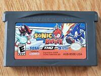 Sonic Battle (Nintendo Game Boy Advance, 2004) Authentic