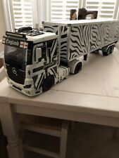 Tamiya 1:14 Truck Rig And Trailer With Biere Sound And Lights System RTR