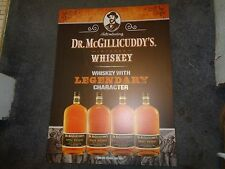 DR MCGILLICUDDY'S WHISKEY TIN SIGN - NEW! NEAT SIGN! 24 x 18 doctor mcgillicuddy