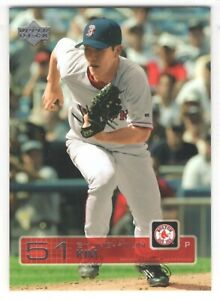 2003 Upper Deck Boston Red Sox Team Set Series 1 and 2
