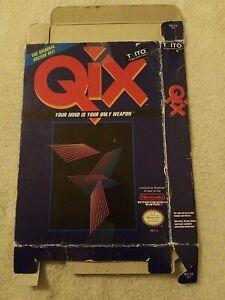 Qix (Nintendo Entertainment System, 1991) NES RaRe *** Box Only ***