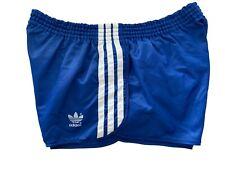 Adidas vintage Sprinter Shorts Gr. L Sporthose 80s shiny Running blau 80er FS6