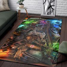 Rug for living room Gamer Zone Rug Home Decor Rug