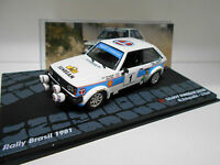 TALBOT SUNBEAM LOTUS RALLY BRASIL 1981 FREQUELIN EAGLEMOSS IXO 1/43