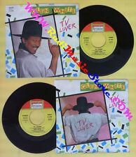 LP 45 7'' GLEN WHITE Tv lover Tv laugh 1987 italy CHAPULIN CH 28006 no cd mc*dvd
