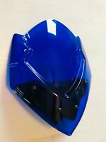 PUIG Naked New Generation Blue Windscreen For 2015-19 Suzuki GSX-S1000