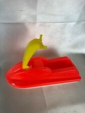 "Vintage Gay Toys Inc 325 Plastic Jet Ski 7 1/2"" Made in Usa"