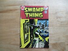1974 DC SWAMP THING # 7 SIGNED BY CREATOR & ARTIST BERNI WRIGHTSON, WITH POA