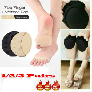 3 pairs Honeycomb Fabric Forefoot Pads - Keeps Your Feet,Toes,and Arches Protect