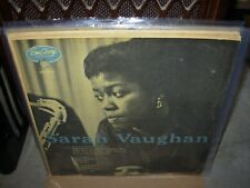 SARAH VAUGHAN / CLIFFORD BROWN self titled 1954 ( jazz ) emarcy 36004