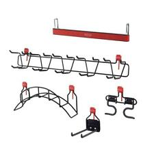 Rubbermaid Large Shed Accessory Kit w/ Garden Hose Holder Magnetic Strip and