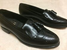 FOOTJOY CLASSICS Loafers - BLACK  Sz 10.5 A  Made in USA   Excellent!