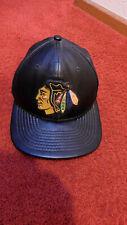 Chicago Sports Black Leather Cap Hat Accessories